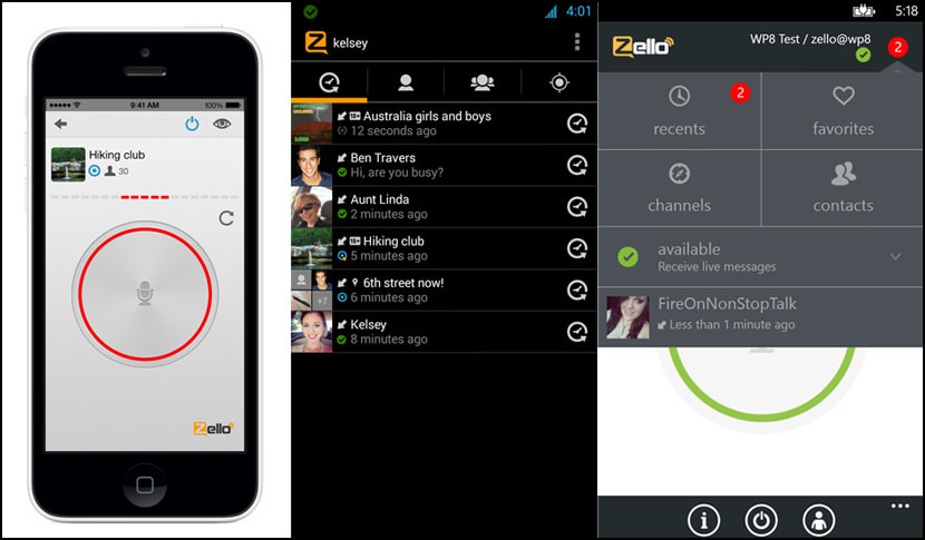 zello walkie talkie app Walkie Talkie Apps For Smartphones Via 3G and Wireless Wi-Fi