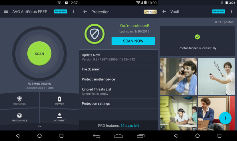 AVG AntiVirus for Android Free Android Antivirus - Stop Credit Card Theft And Safe Internet Banking