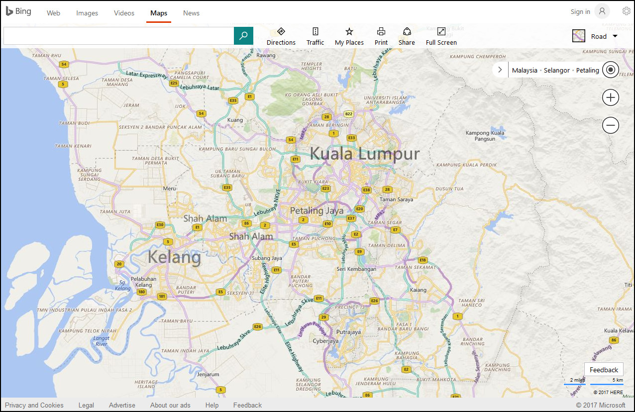 bing maps previously live search maps windows live maps and windows live local is a web mapping service provided as a part of microsoft bing suite of