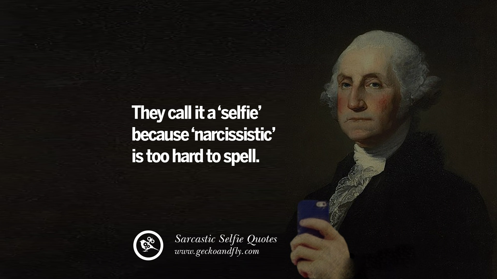 30 Sarcastic Anti-Selfie Quotes For Facebook And Instagram Friends