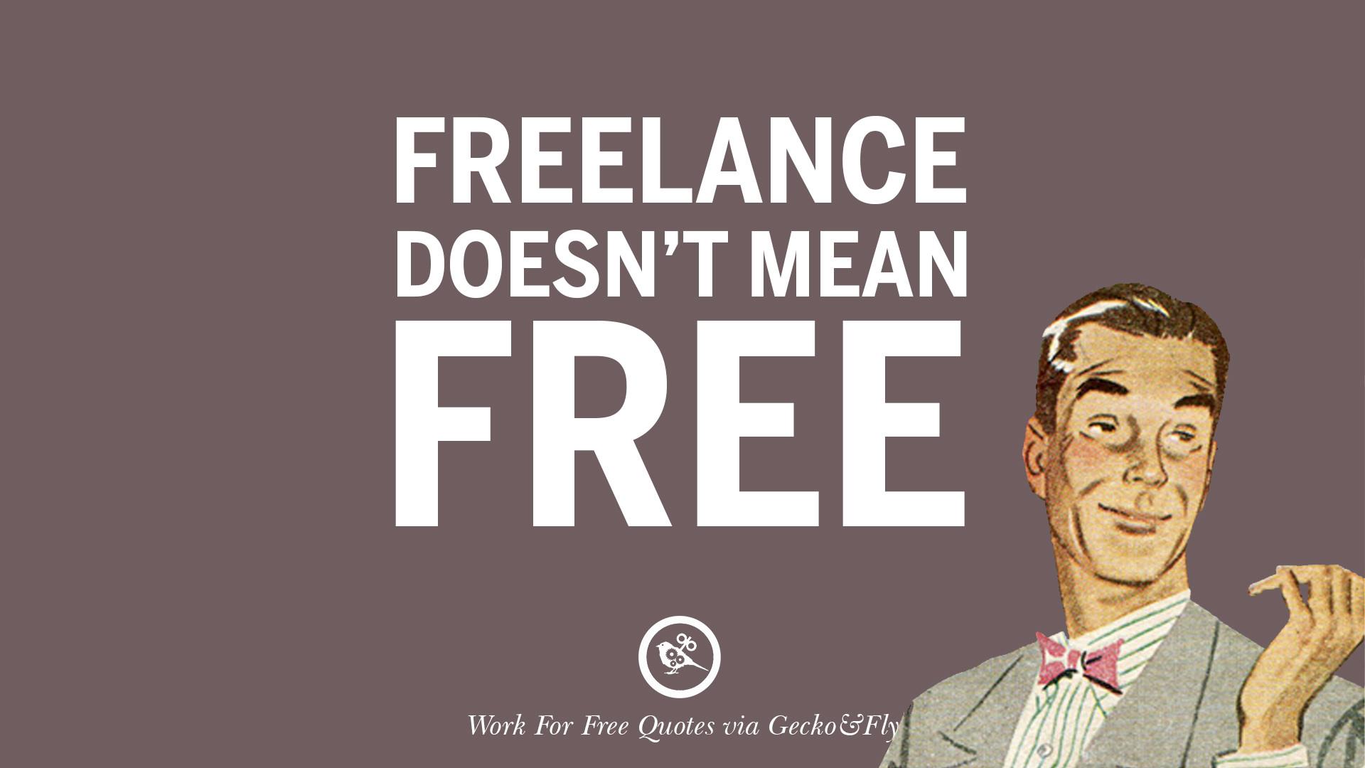 free freelance work