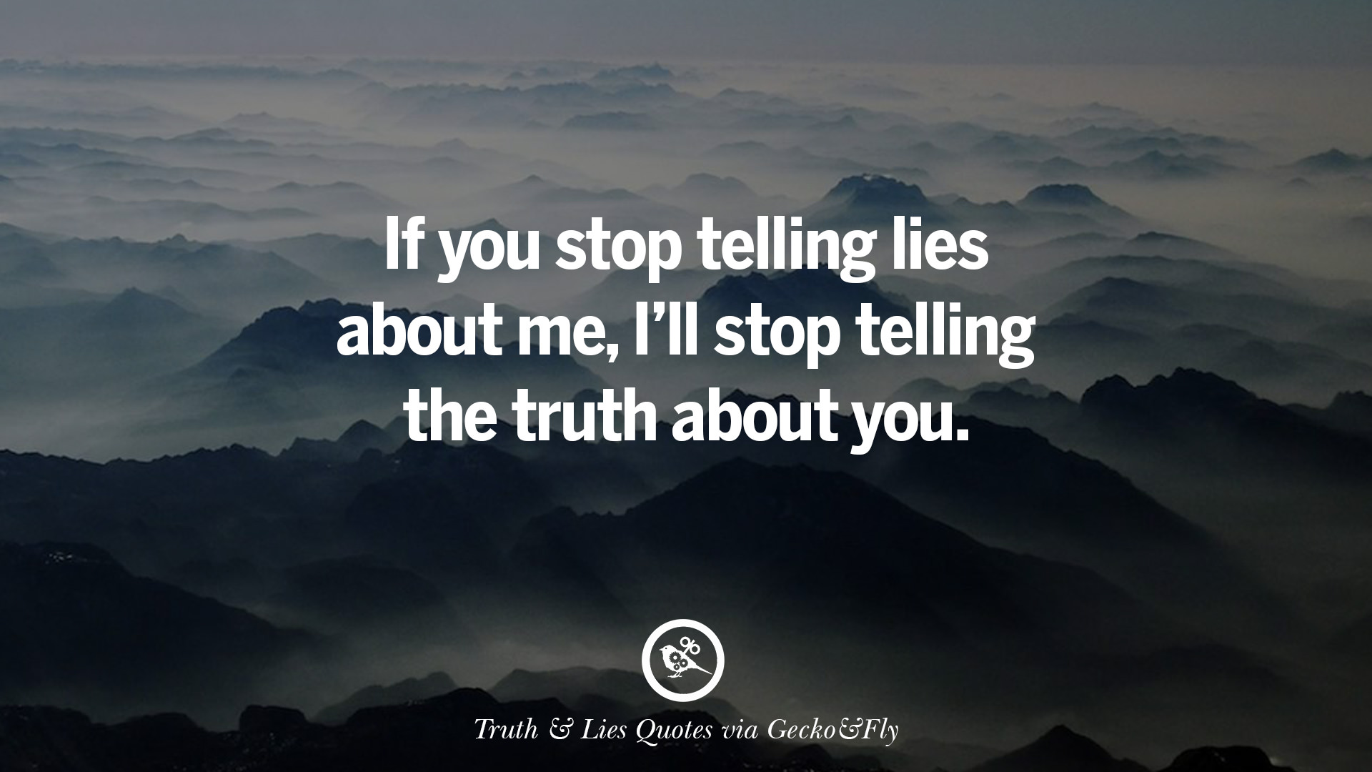 the truth about lies The truth about lying published july 29, 2016 comments  karlee bauer february 27, 2017 im interested in using this as an external source for an essay is there .