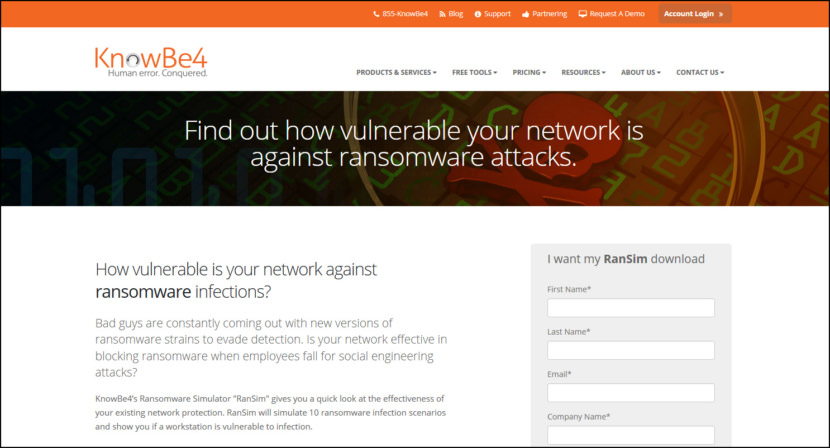 Free Ransomware Simulator Tool