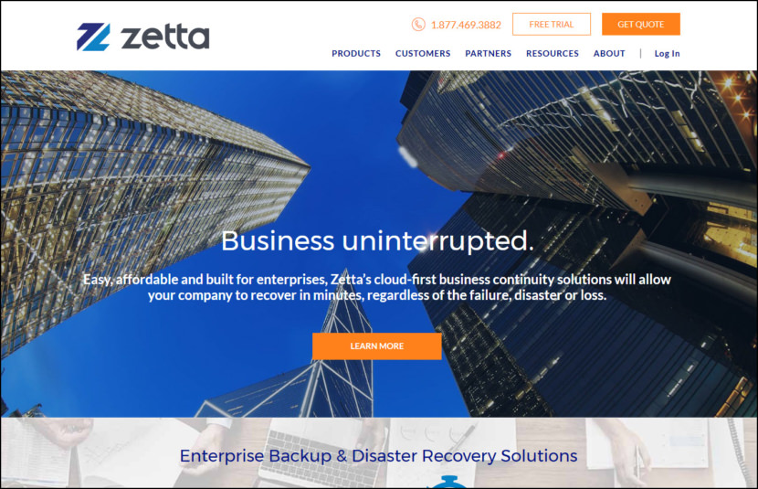 Local Enterprise Backup Solutions & Services