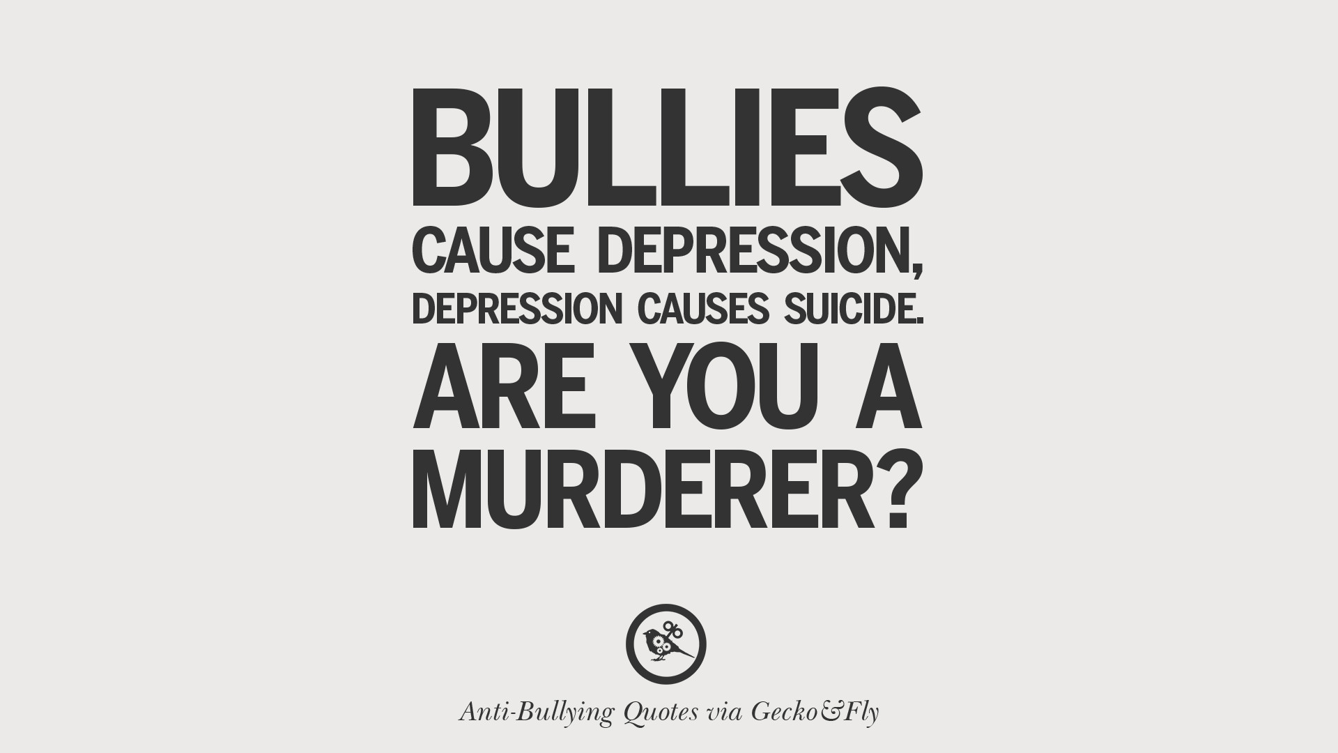 Bullying Quotes Pleasing 12 Quotes On Anti Cyber Bulling And Social Bullying Effects