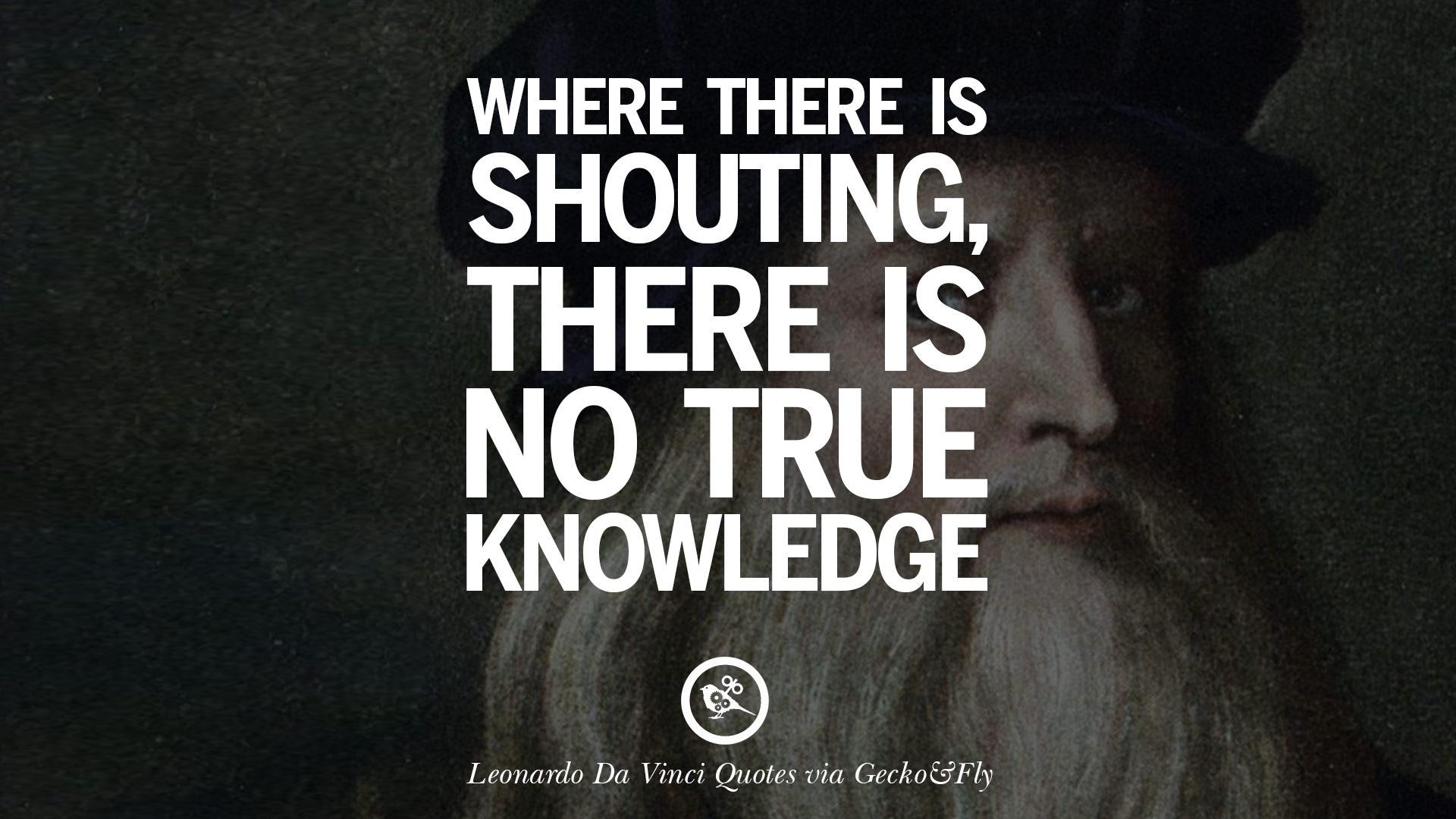 16 Greatest Leonardo Da Vinci Quotes Love Simplicity