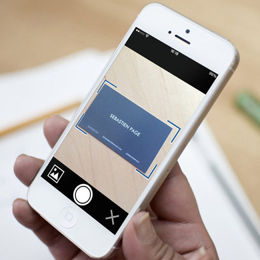 9 business card scanner and organizer apps for iphone and android reheart Choice Image