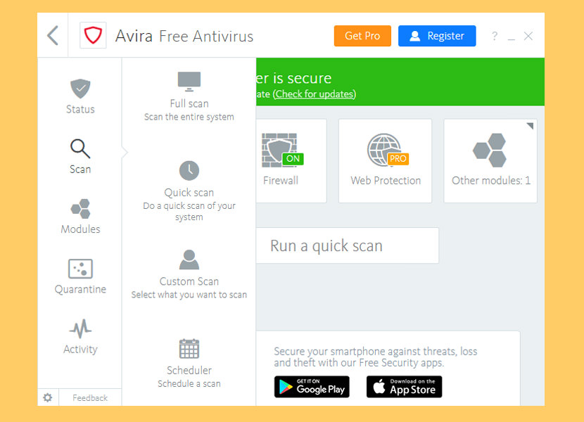 Avira Free Security Suite 2018 Best Pro Antivirus With