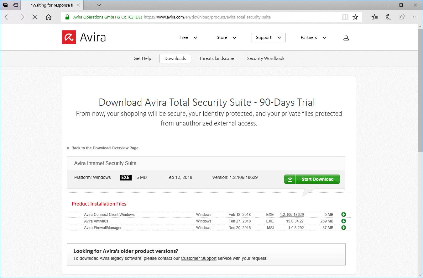 180 Days Free Trial for Bitdefender Total Security 2020