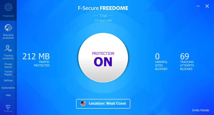 F‑Secure FREEDOME VPN