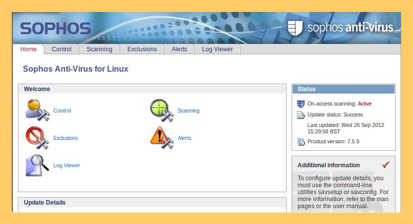 Sophos Antivirus For Linux