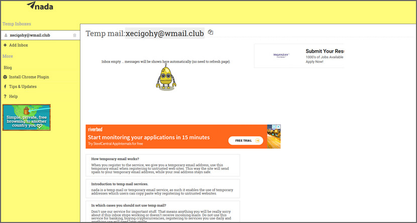 10 Free Temporary Disposable Email Services To Fight Spam