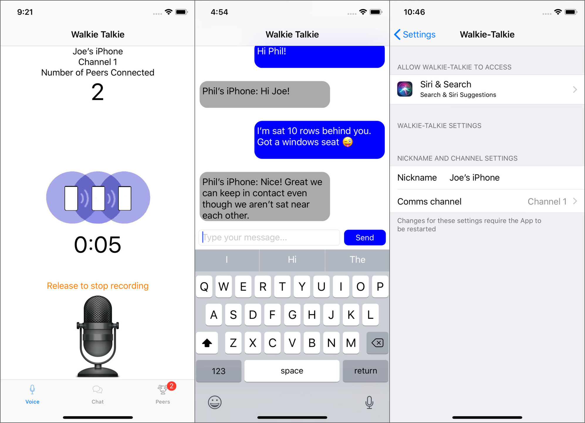 4 Walkie Talkie Apps For Smartphones Via 3G, Wireless Wi-Fi