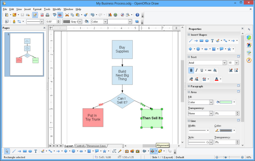 Open Office Drawing Lines : Free microsoft visio alternatives flowchart workflow