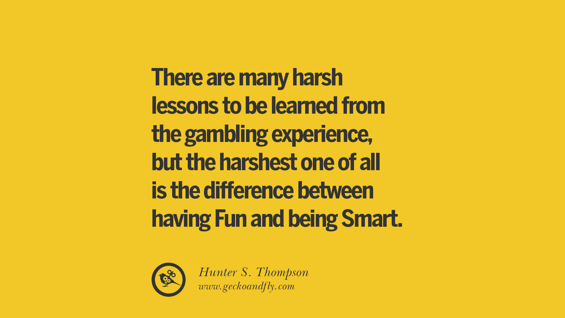 Gambling Quotes And Sayings