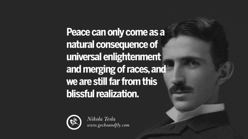 Peace can only come as a natural consequences of universe enlightenment and merging of races, and we are still far from this blissful realization.