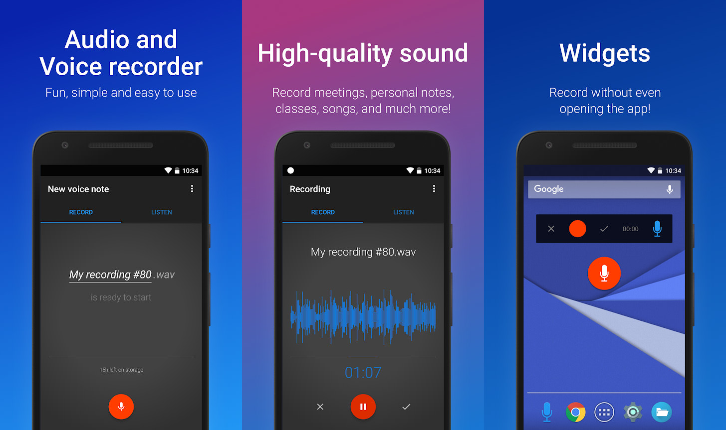7 Free High Quality Voice & HD Audio Recording Apps With