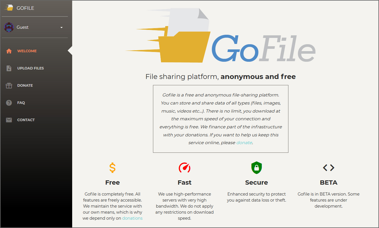 free file hosting sites no sign up