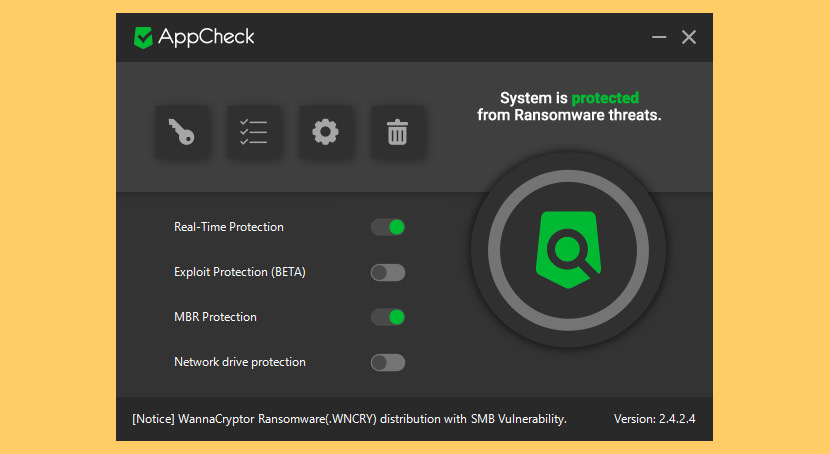 AppCheck Endpoint Anti-Ransomware