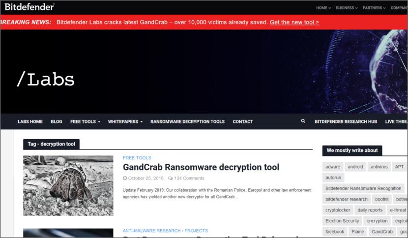 Bitdefender Decryption Tool