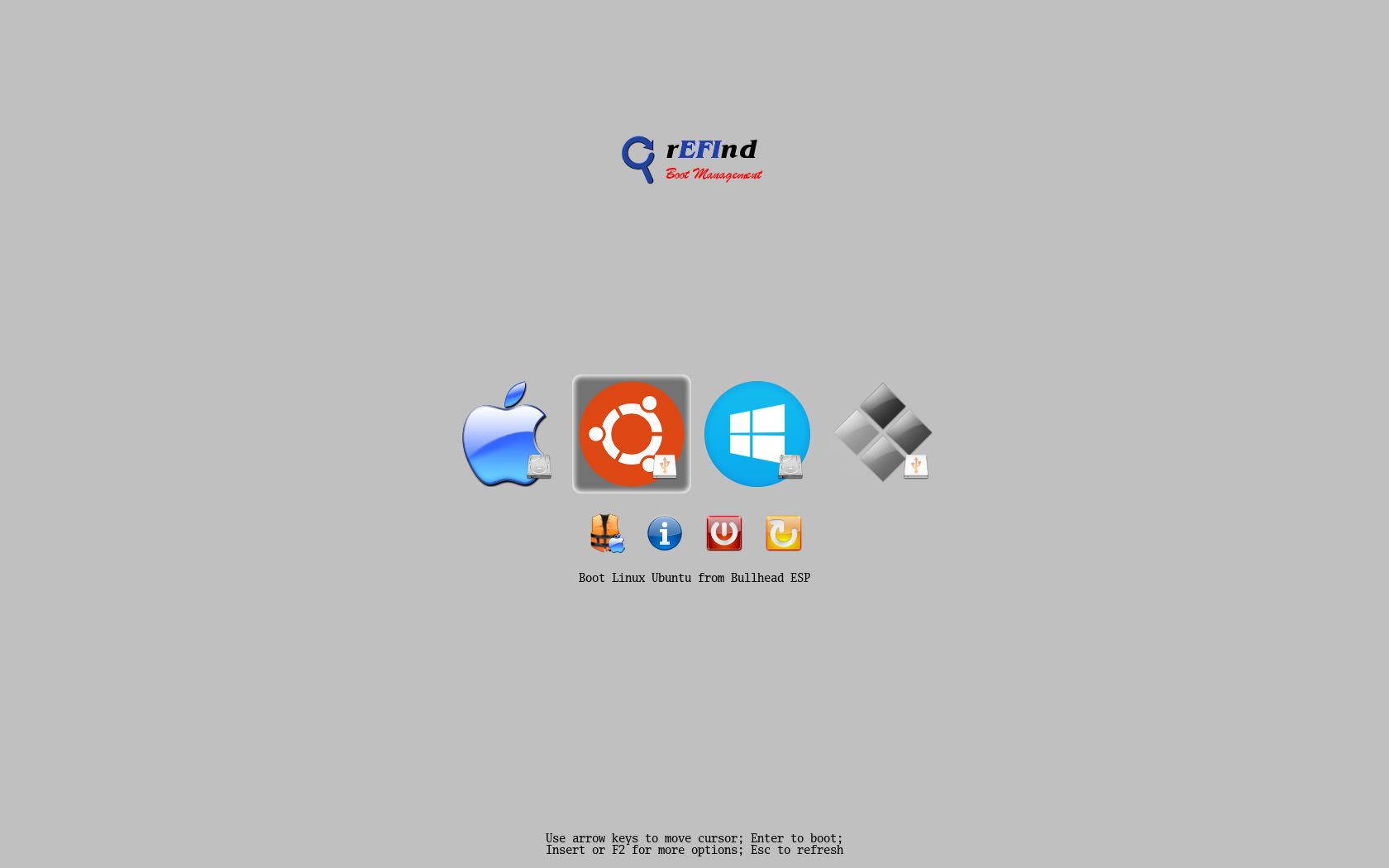 Refind linux