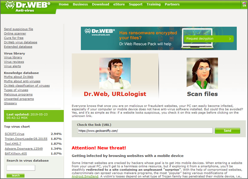 8 Online File & URL Antivirus Scanners With Multiple Engines