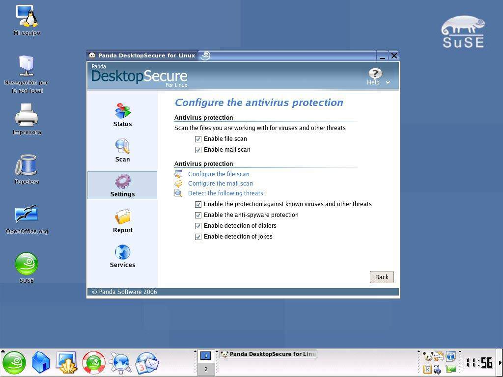 Panda DesktopSecure for Linux