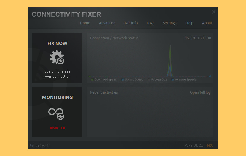 Connectivity Fixer
