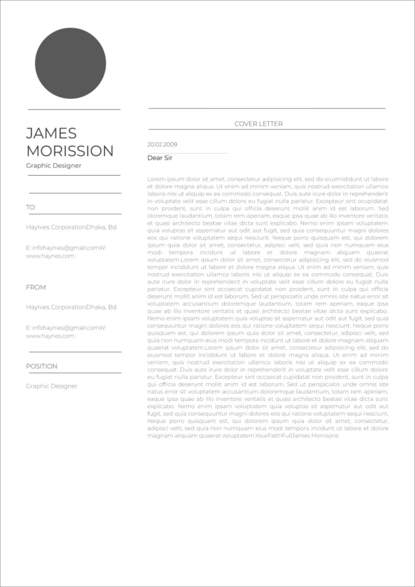 13 Free Cover Letter Templates For Microsoft Word Docx And ...