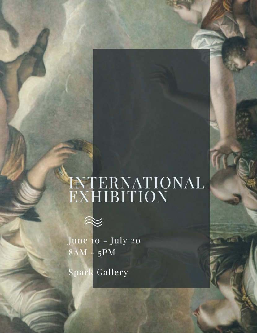 Art exhibition Free Poster And Flyer Templates