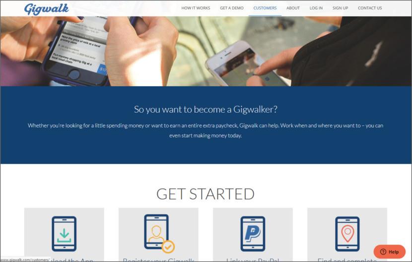 Gigwalk Micro Task Jobs Sites - Get Paid To Do Short Tasks Online