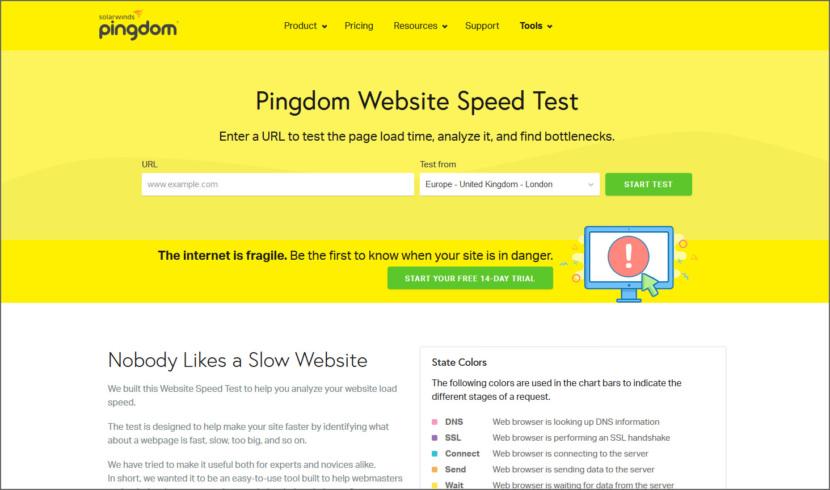 Pingdom SEO Analysis