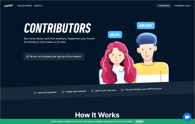 Sequence works Micro Task Jobs Sites - Get Paid To Do Short Tasks Online