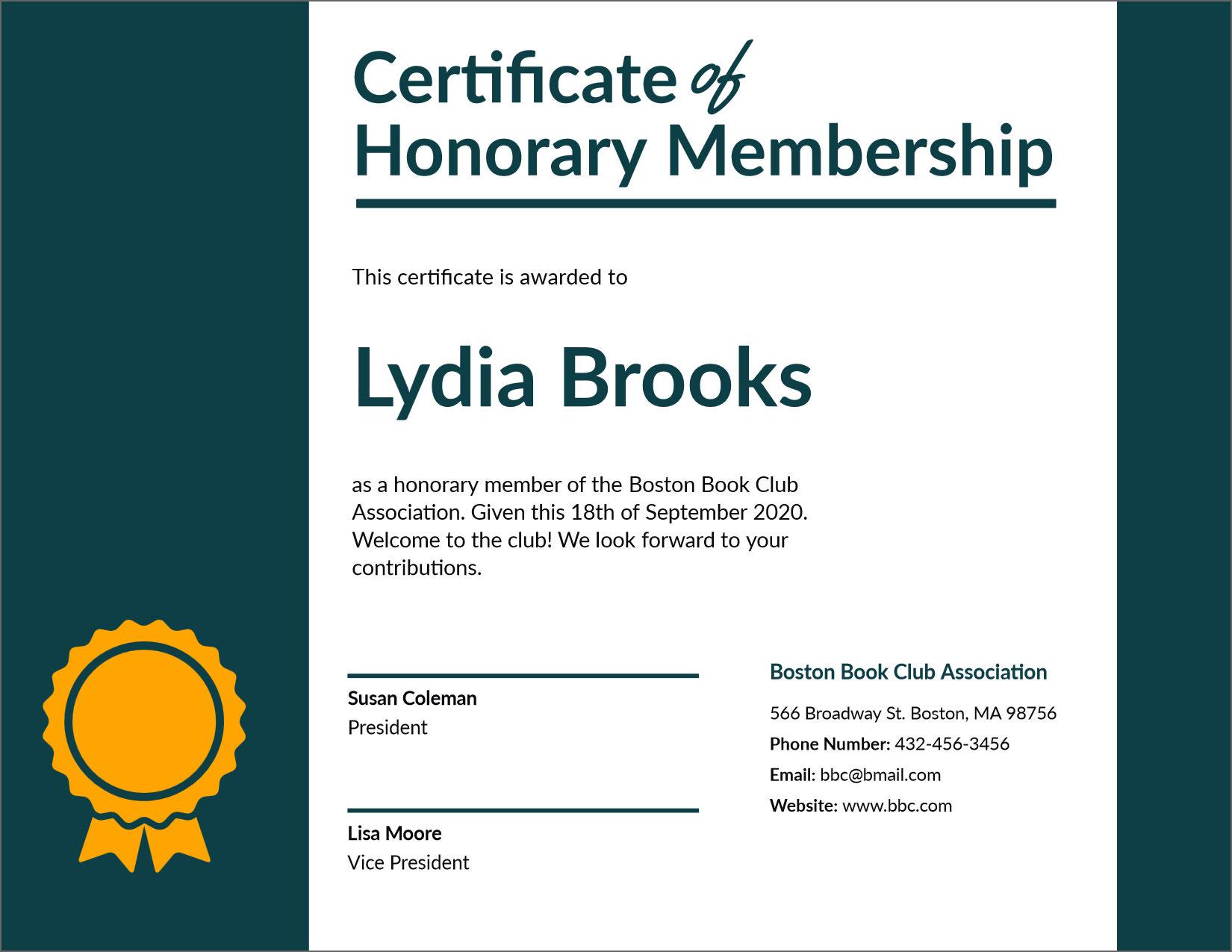 Certificate Of Membership Template from cdn2.geckoandfly.com