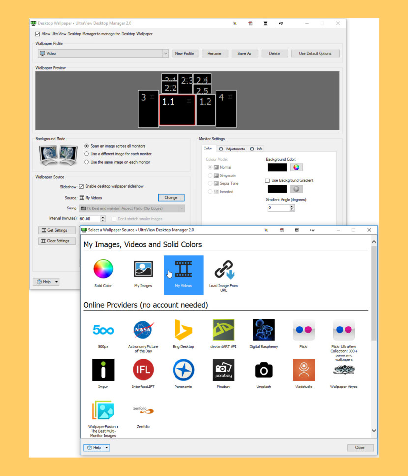 UltraView Desktop Manager