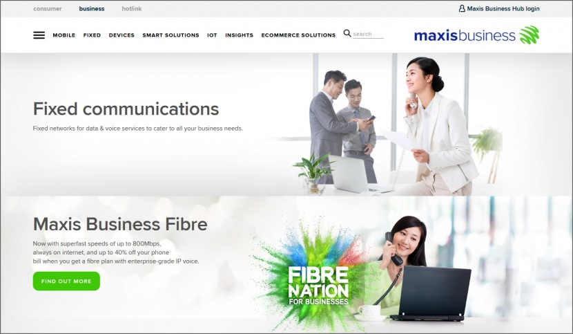 Maxis ONEBusiness Fibre