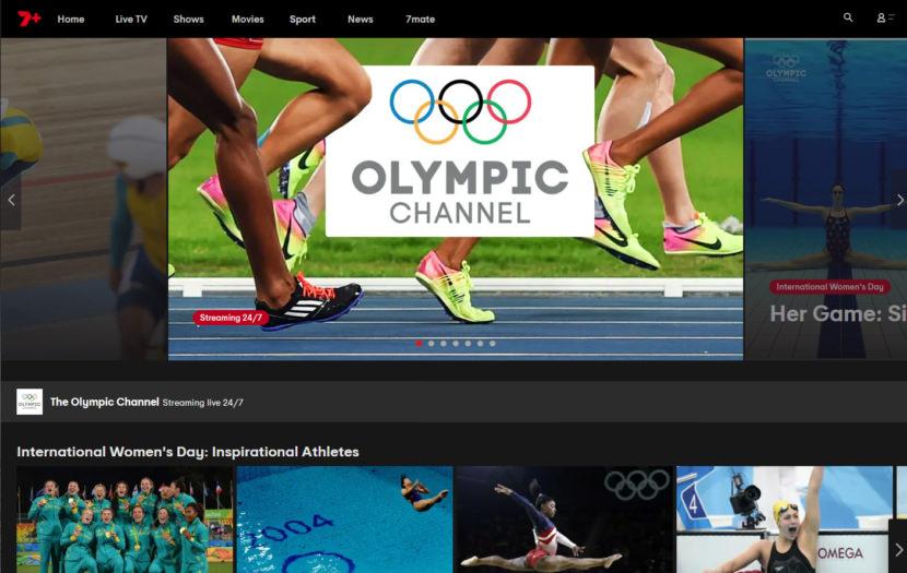 7plus australia olympic tokyo live online